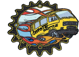 Coyote Shuttle Sticker