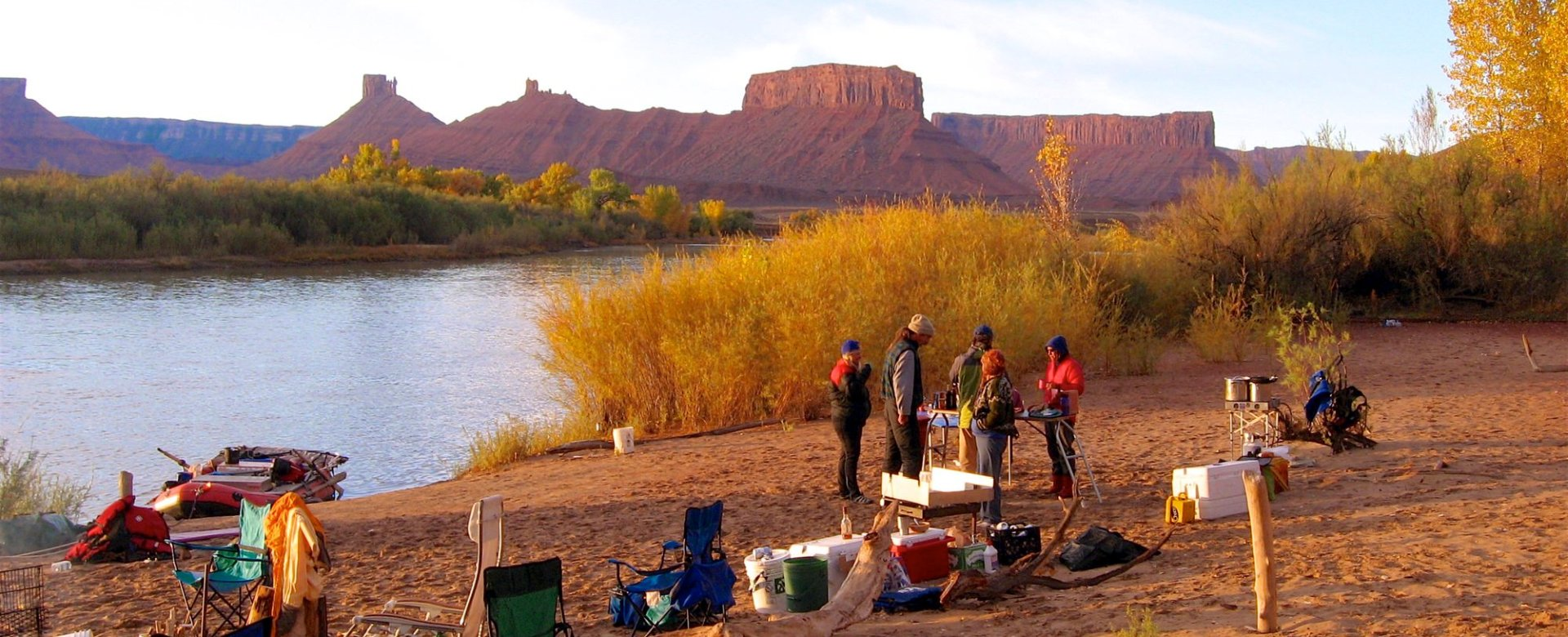 River Shuttles In Moab, Utah